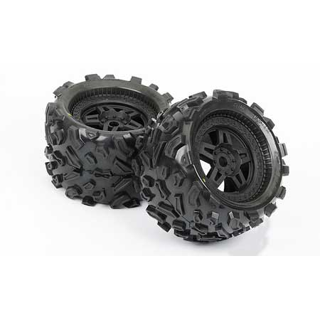 Fr, R Big Joe 3.8 All Terrain Mnt Tech 5 Blk Whl