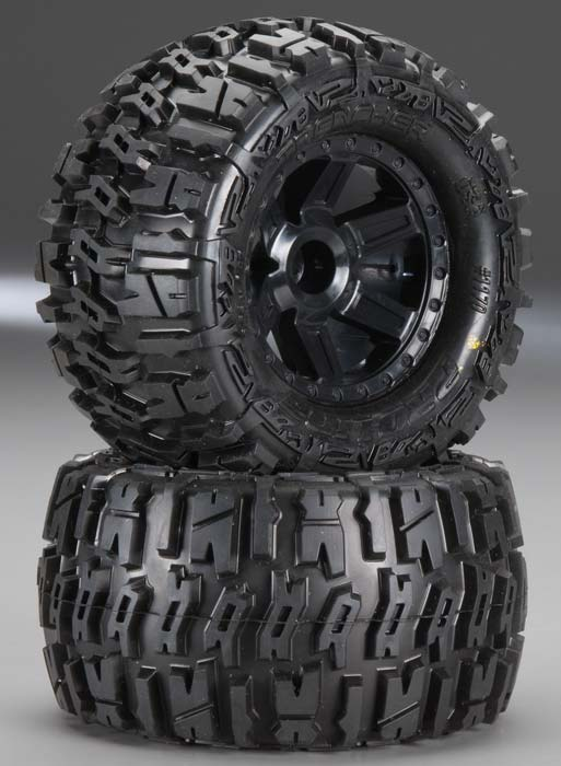 "Trencher 2.8"" Mntd on Desperado Black Wheels F"