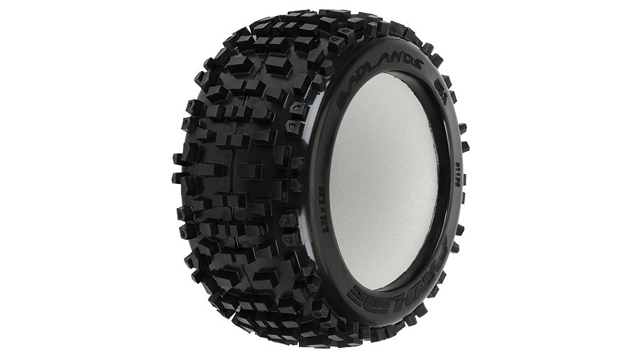 Badlands 3.8 Street Truck Tire (2):TRA 3.8 Wheel