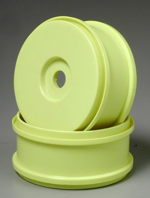 1/8 Velocity Buggy Wheel Yellow (2)