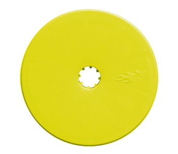 Front Wide Velocity Wheel Yellow (2) B4