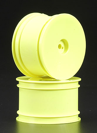 Rear Wide Velocity Wheel Yellow (2) B4