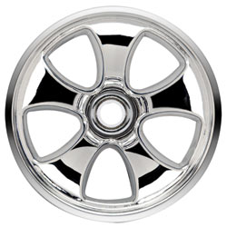 30 Series Rear Torque Wheel, Chrome (2): Jato