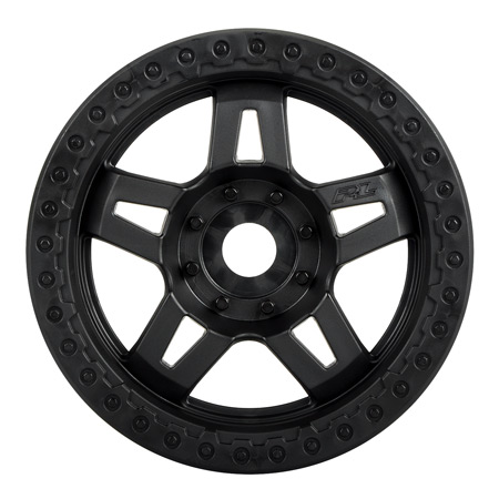 Tech 5 3.8 MT Wheel, Black 2.75, 0 Offset, 17mm