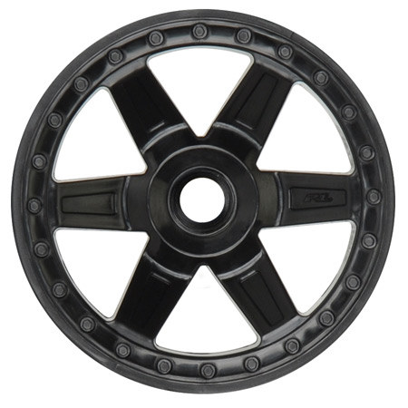 Front Desperado 2.8 Wheel, Black: Jato, NST, NRU