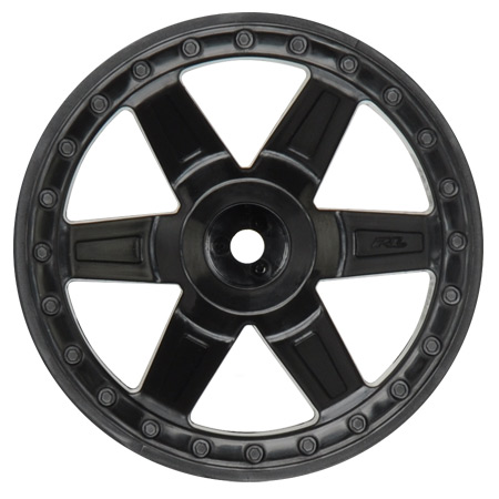 Rear Desperado 2.8 Wheel, Black: Jato, NST, NRU