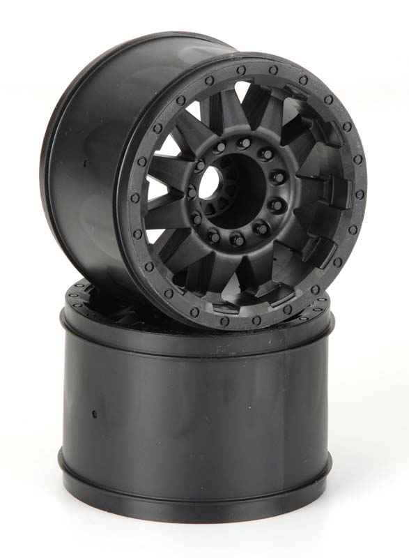"F-11 3.8"" Black 1/2"" Offset 17mm Wheels (2)"