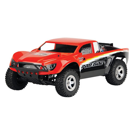 Desert Rat Clear Body Traxxas Slash