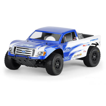 Ford F150 Clear Body: SLH, SLH4x4, SC10