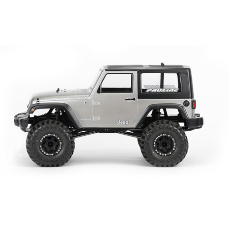 2009 Jeep Wrangler Clear Body: Crawlers