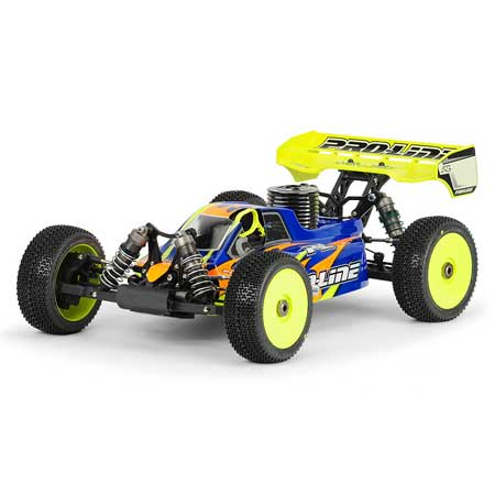 BullDog Clear Body: Losi 8 2.0