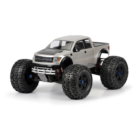 Ford F150 SVT Raptor Clear Body: TMX 3.3, Revo 3.3