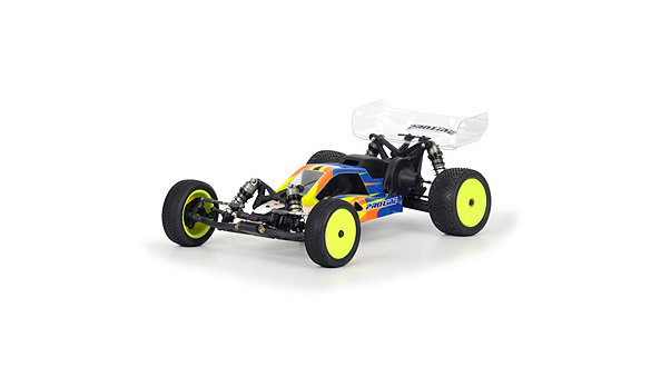 BullDog Mid Motor Configuration Clear Body TLR22