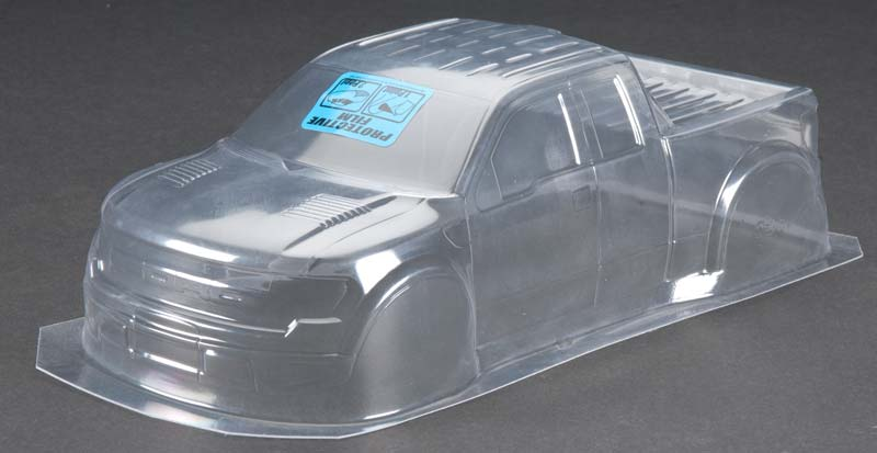1/16 Ford F150 SVT Raptor Clear Body:ERevo