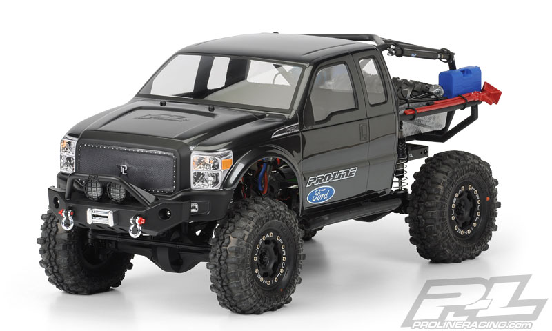 Ford F-250 Super-Duty Cab Body SCX10 Trail