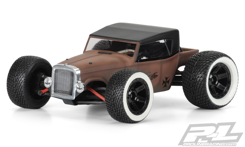 Rat Rod Clear Body 1/16 E-Revo