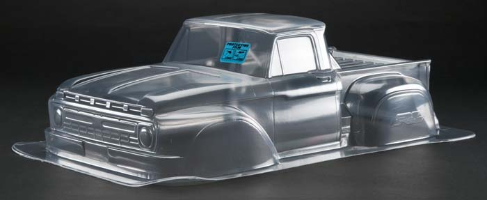 66 Ford F-100 Clear Body Slash/4X4/SC10