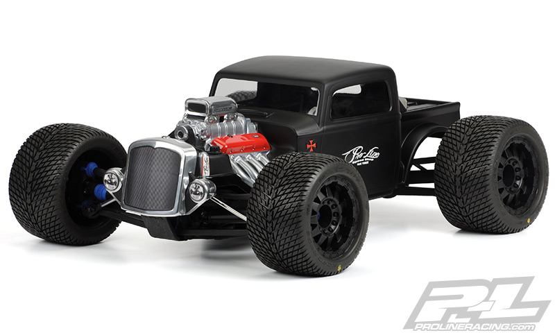 Rat Rod Clear Body Revo 3.3/E-Revo/Summit
