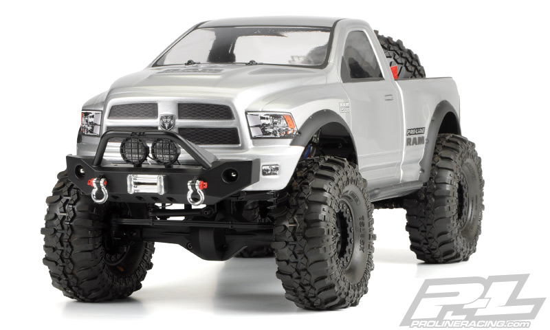 RAM 1500 Clear Body for 1/10 Scale Crawlers