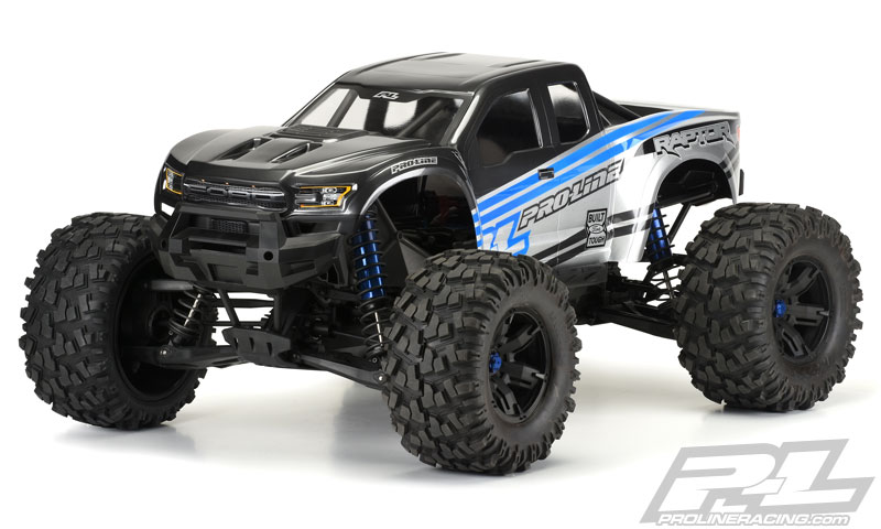 Pre-Cut 2017 Ford F-150 Raptor Clear Body