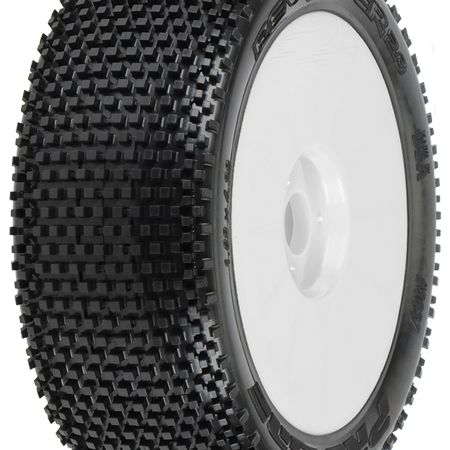 1/8 Revolver 2.0 M3 Mnt V2 Wheel,White Off-Road BX