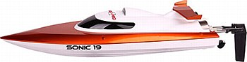 SONIC 19 HIGH-SPEED BRUSHED BOAT