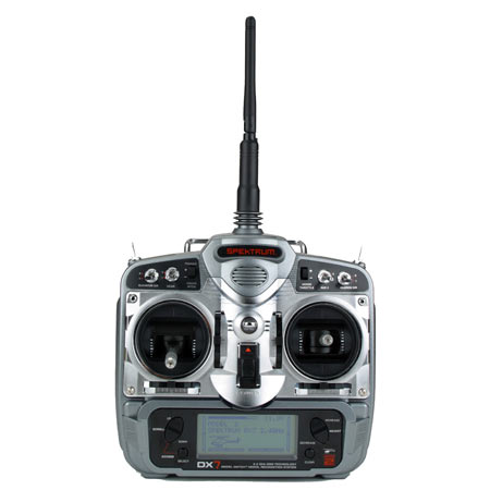 DX7 DSM2 7-Channel Microlite Heli Radio w/ 3-S285