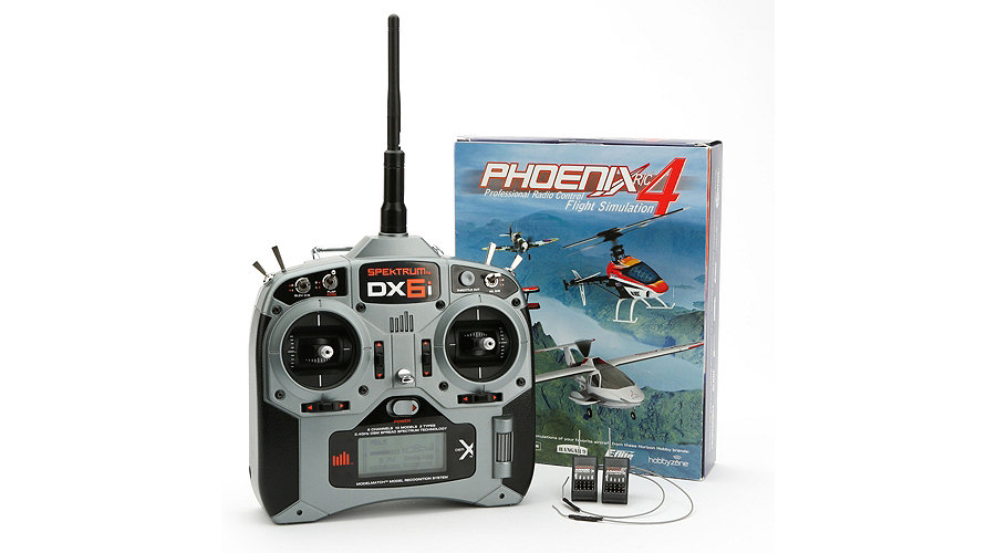 Pilot Proficiency Kit (DX6i with two AR400 and Phoenix 4)