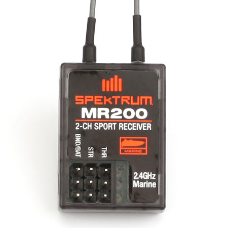 MR200 Marine 2.4GHz 2-Ch Sport Receiver