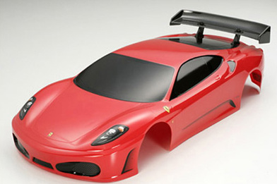 1/10 RC Body Set Ferrari F430 (Finished)