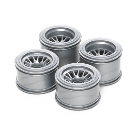 F104 Mesh Wheels For Rubber Tires (4)