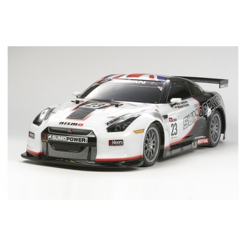 1/10 Nissan GT-R Sumo Power GT Clear Body Set