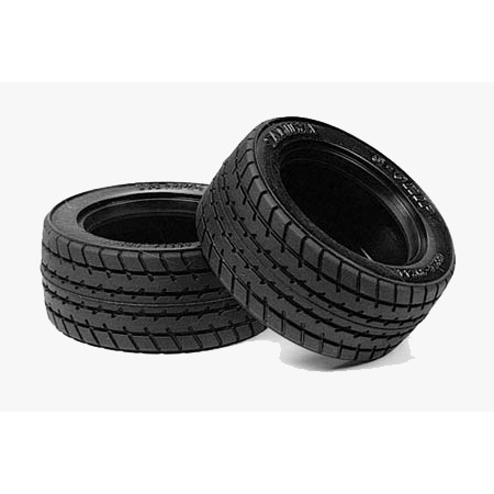 Tires (2): M-Chassis 60D S-Grip Radial