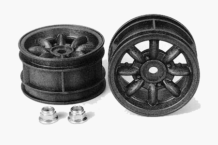 RC Mini Cooper Wheels - Reinforced (1pr)