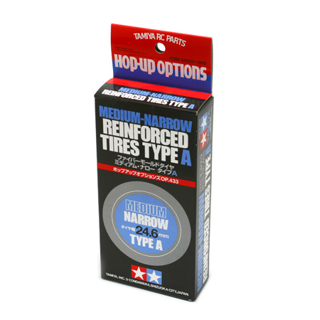 Tires Medium-Narrow Type A 2pcs