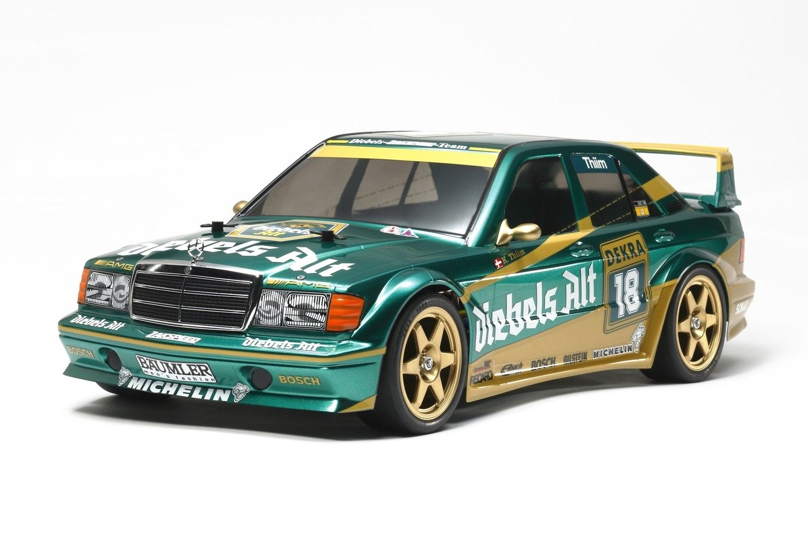1/10 Mercedes 190 E 2.5 16 Evo II Diebels Alt TT01E Kit