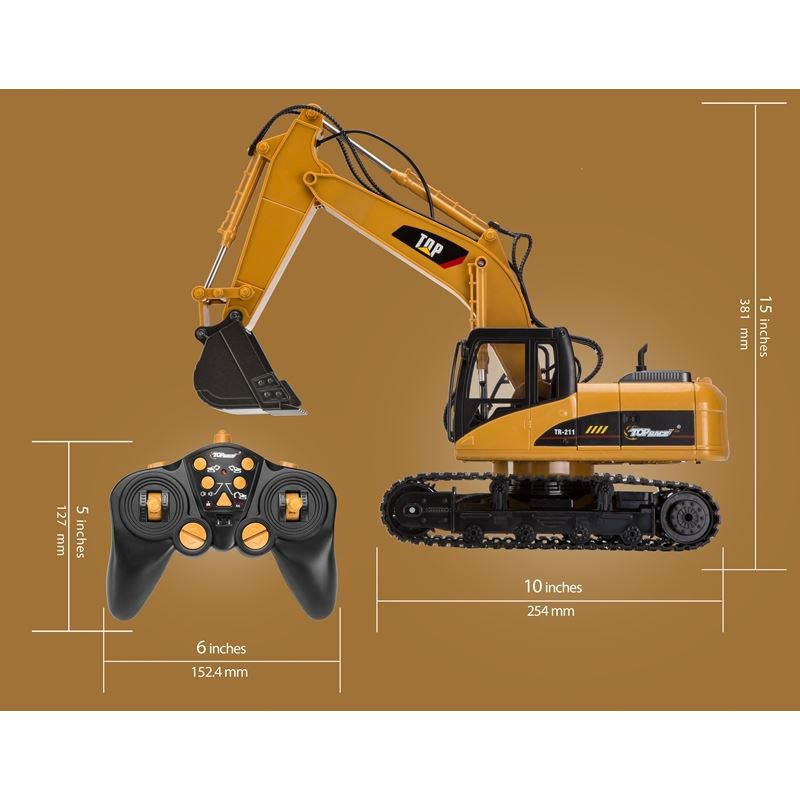 15 Channel Full Functional RC Excavator
