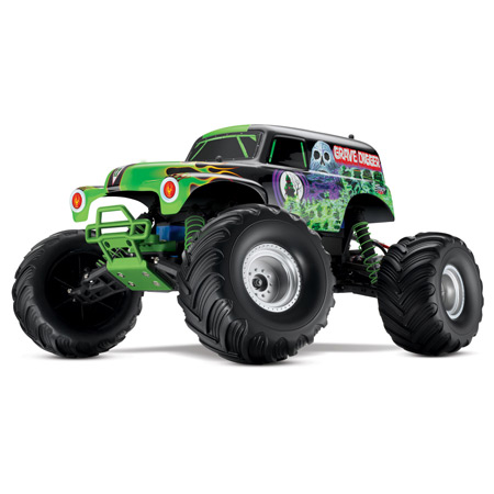 Grave Digger 2WD Monster Truck RTR w/2ch am Radio