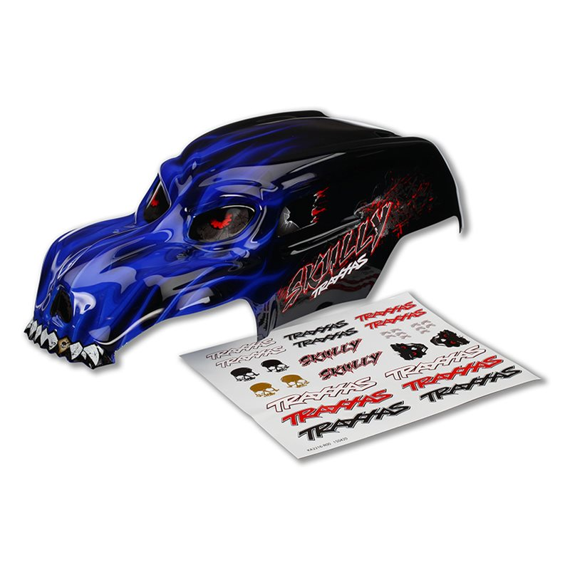 Blue Skully Body with Decals