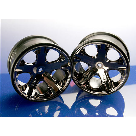 "All-Star 2.8"" Black Chrome Wheels (2) Rear - Electric"