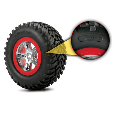 S1 Slash Tread Racing Tires (2): SLH, SLH 4x4