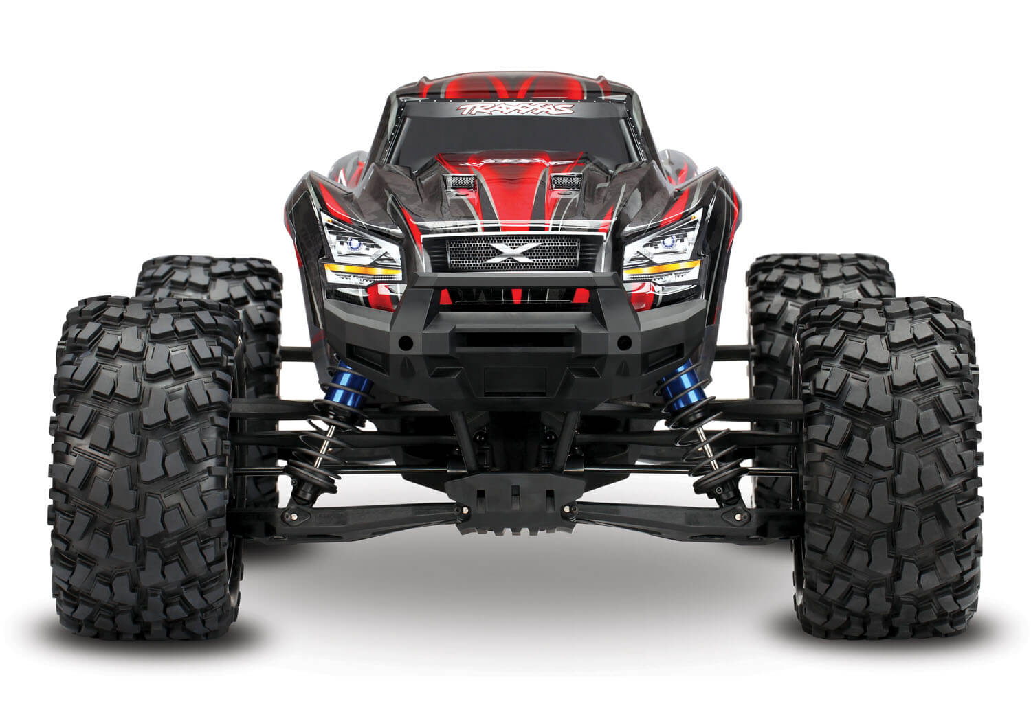 X-Maxx:4WD Truck RTR with:TSM,TQi 2.4GHz, VXL-6s - Click Image to Close