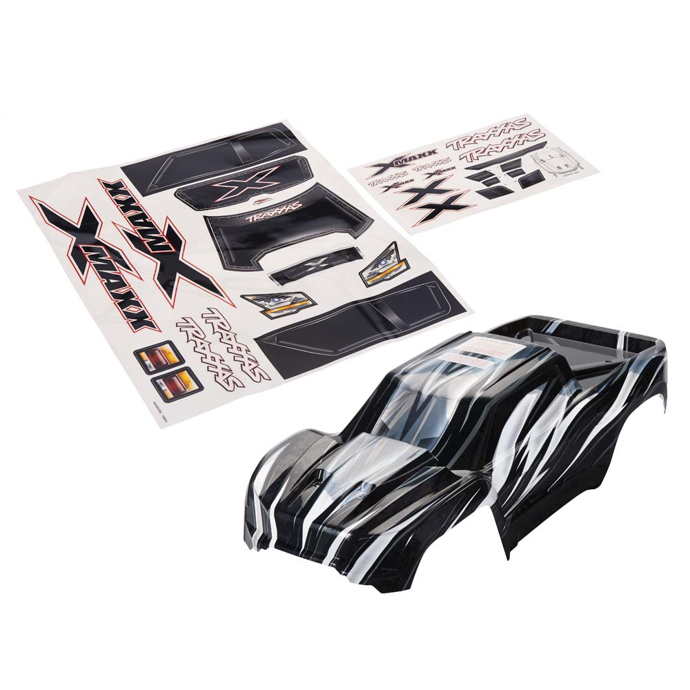 X-Maxx ProGraphix Body w/Decal Sheet