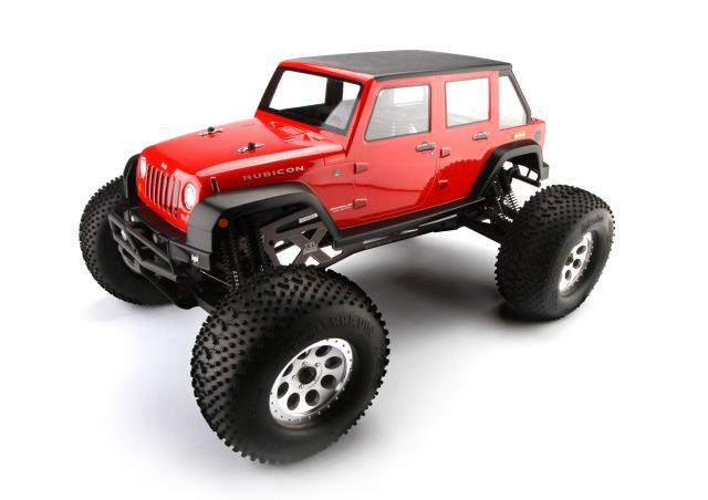 Jeep Wrangler Unlimited Rubicon Body