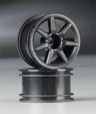 Spoked Wheels Black 18R (2)