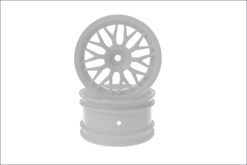 Rear Wheel (56 Size/Mesh) White