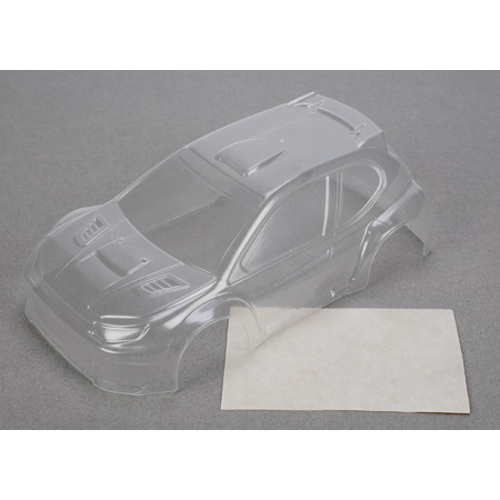 Micro Rally Body, Clear