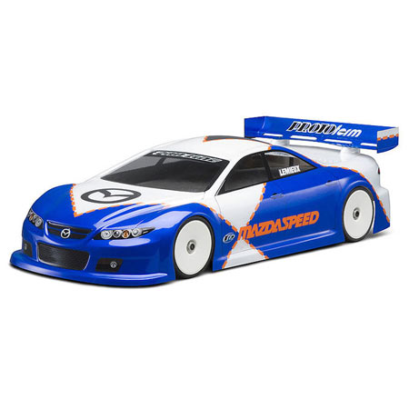 Mazda Speed 6 Light Touring Car Body Clear 190mm