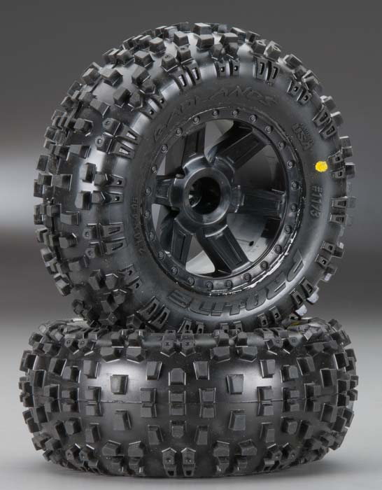 "Badlands 2.8"" Mounted All-Terrain Front Tires"