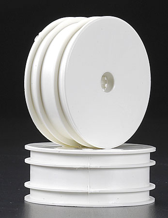 Front Wide Velocity Wheel White (2) B4